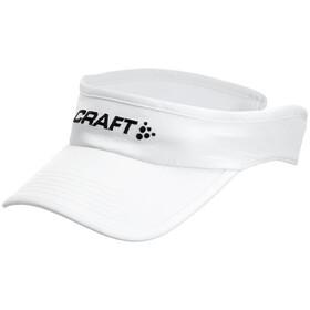 Craft Running Visor - Accesorios para la cabeza - blanco